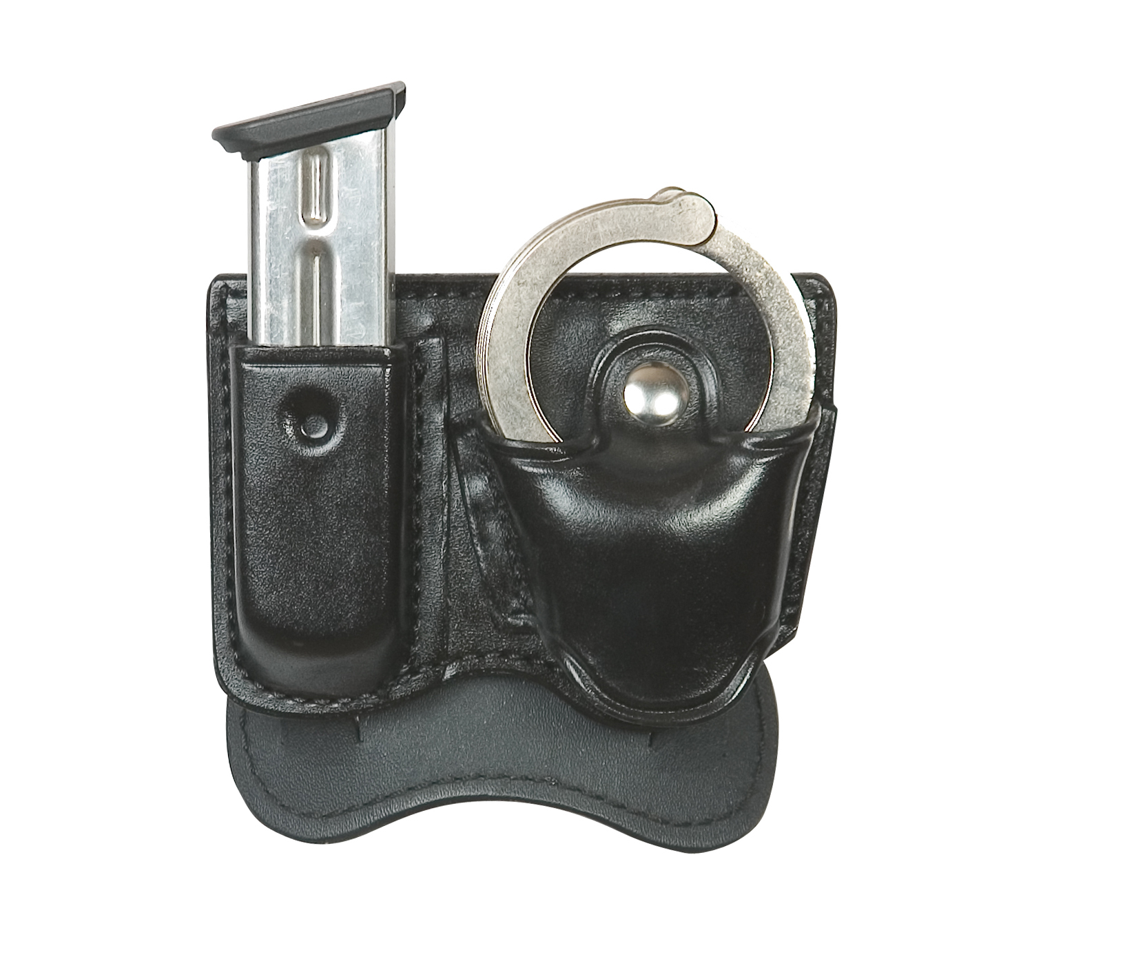 D425A M/C-PADDLE STYLE-MAGAZINE/HANDCUFF HOLDER