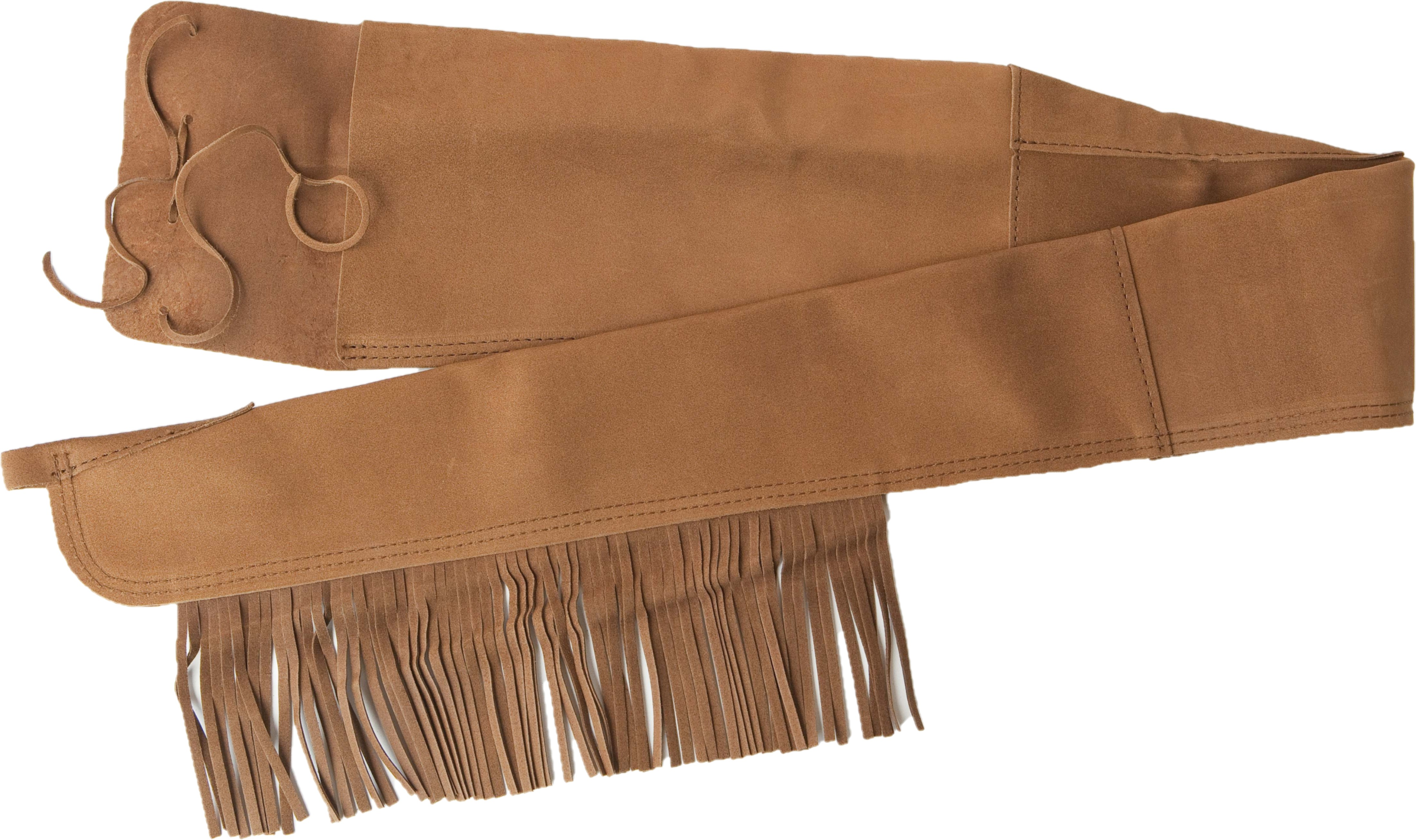 FRINGED RIFLE COVER SUEDE