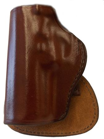 H720 OT PLAIN SADDLE BROWN W/SUEDE PADDLE LEFT HAND