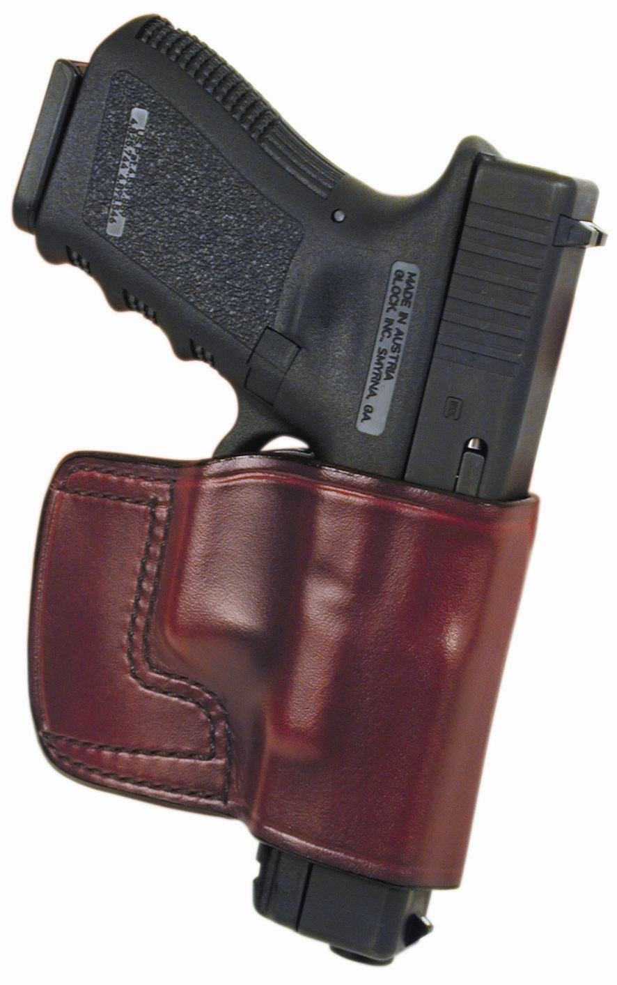 Don Hume JIT Belt Slide Open Bottom Style Concealment Leather Gun Holster