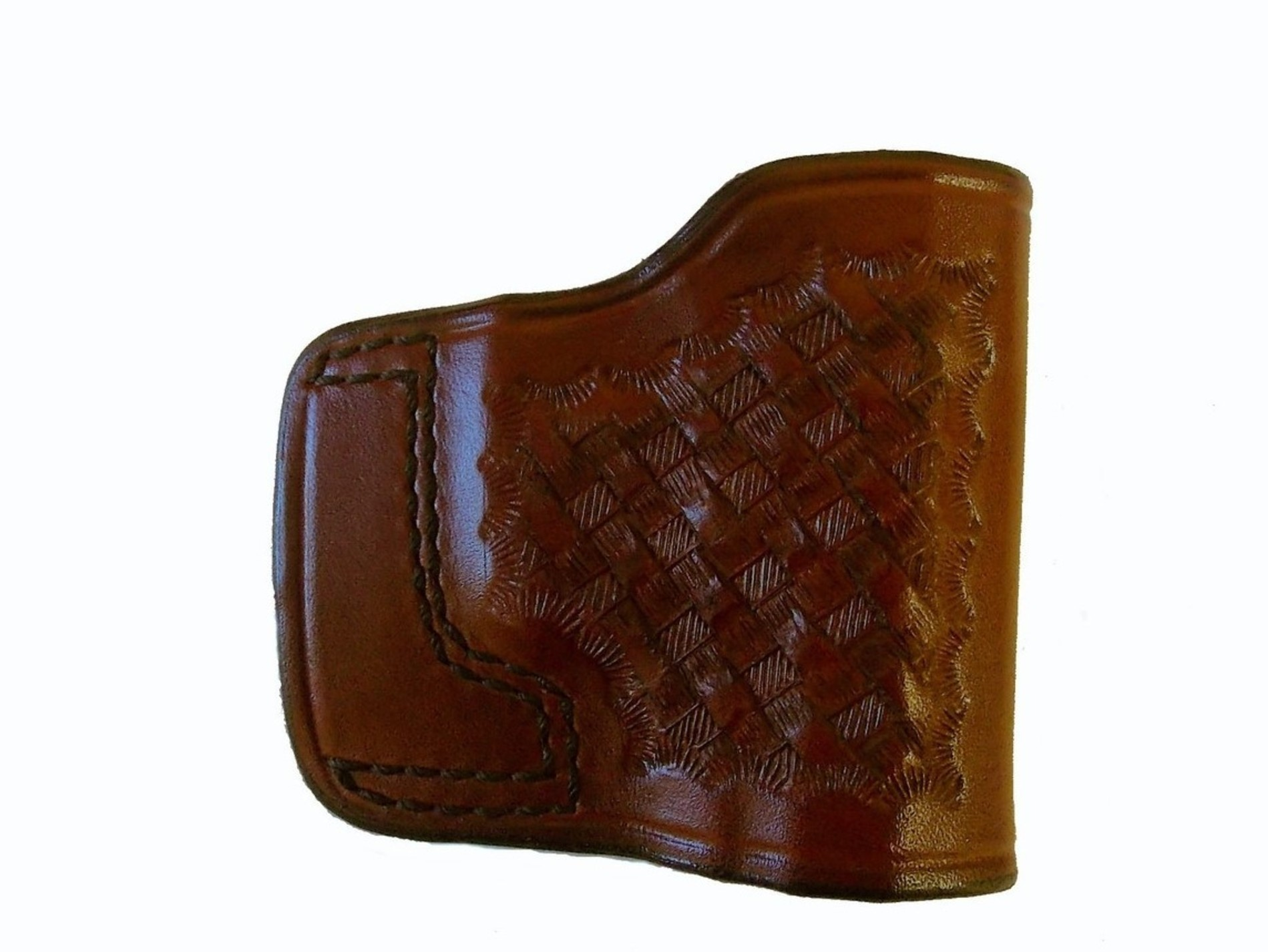 *J.I.T. SLIDE BASKETWEAVE BELT HOLSTER (OVERSTOCK/CLOSEOUT)
