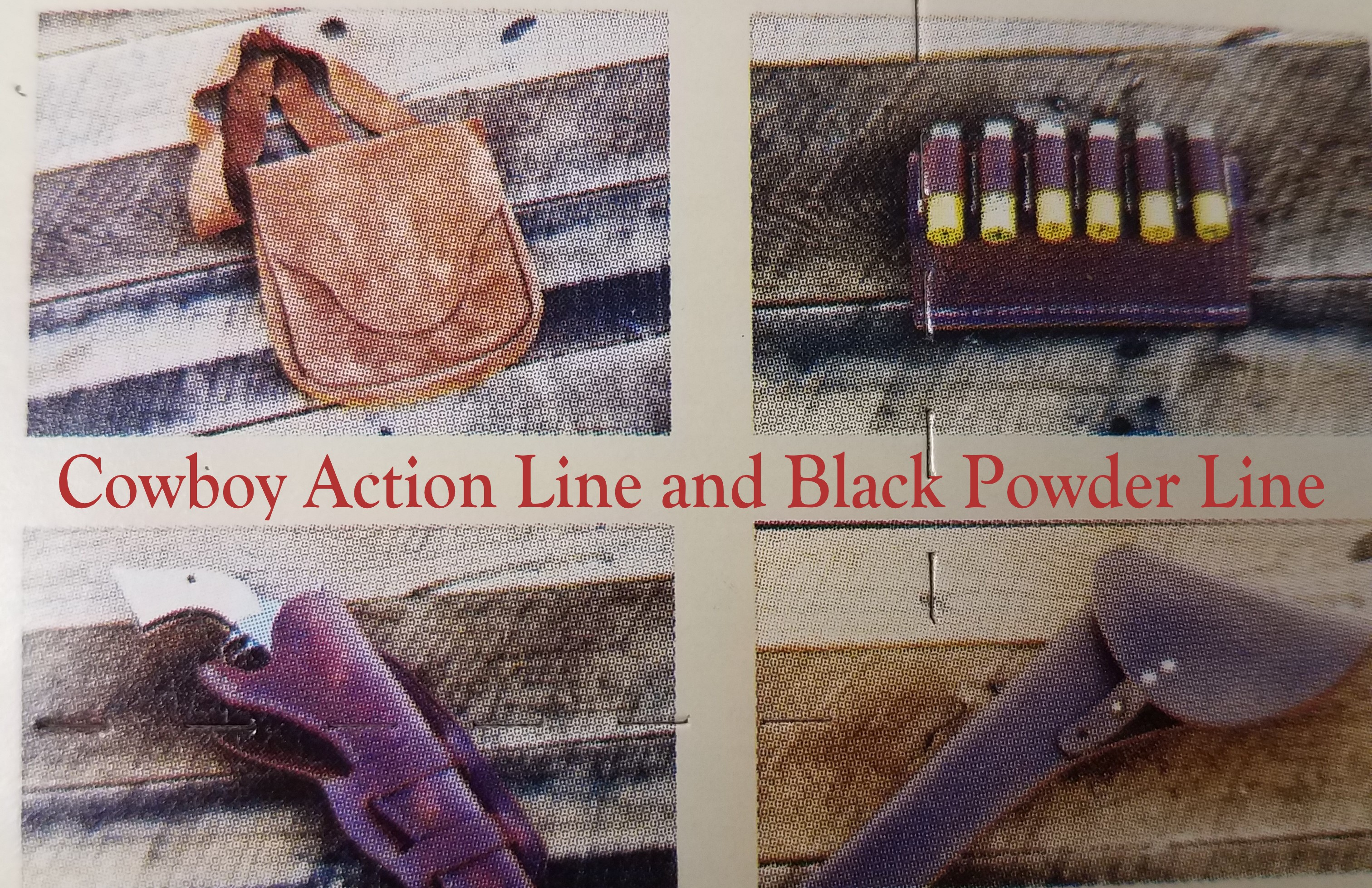 COWBOY ACTION/BLACK POWDER